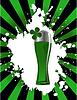 das Glas Bier
