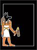 der ägyptische Gott