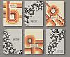 Abstrakt ethnische Muster Linie Texturen