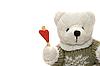 ID 3054270 | Teddybär mit Herz | Foto mit hoher Auflösung | CLIPARTO