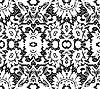 Piękne białe koronki na czarnym | Stock Vector Graphics
