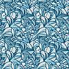 Bez szwu tła z kwiatów lilii | Stock Vector Graphics