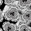 nahtloses monochromes Grunge-Muster