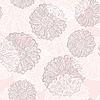 Szwu z kwiatów abstrakcyjna | Stock Vector Graphics