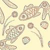 Henna-Fische