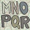 ID 3044706 | Mnopqr doodle litery | Klipart wektorowy | KLIPARTO