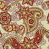 nahtloser Paisley-Hintergrund