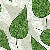 nahtlose grüne Blätter