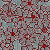 florales nahtloses Pattern