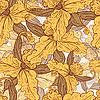 nahtloser Vintage-Hintergrund mit Lilien