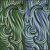 Vektor Cliparts: 2 Steglos abstraktes Muster