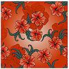 ID 3065698 | Wzór wiosna z kwiatami hibiskusa i liści | Klipart wektorowy | KLIPARTO