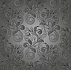 ID 3079141 | Bezszwowe tle kwiatów monochromatyczny | Klipart wektorowy | KLIPARTO