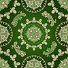 Vektor Cliparts: nahtloses Paisley-Muster