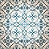Vektor Cliparts: nahtlose vintage florale Muster