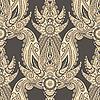 nahtloser orientalischer Paisley-Hintergrund