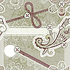 ID 3148506 | Bez szwu rocznika szablon złom | Stockowa ilustracja wysokiej rozdzielczości | KLIPARTO