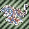ID 3165426 | Ryb i ptaków z podłączonych ogony | Klipart wektorowy | KLIPARTO