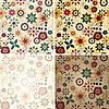 nahtlose florale Frühjahrs-Muster