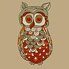Bizarre Funky Owl