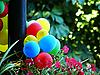 ID 3042726 | Piłki są przymocowane do latarni | Foto stockowe wysokiej rozdzielczości | KLIPARTO