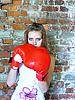 ID 3047642 | Schönes junges Mädchen als Boxer | Foto mit hoher Auflösung | CLIPARTO