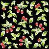 Hintergrund aus Erdbeeren