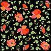 Hintergrund von Mohn-Blumen