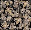 花的背景与百合 | 向量插图