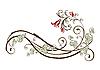 ID 3045806 | 꽃과 아이비와 빈티지 디자인 요소 | 벡터 클립 아트 | CLIPARTO
