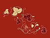 Цветочный орнамент | Векторный клипарт