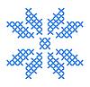 挪威刺绣 | 向量插图