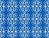nahtloses blaues Muster