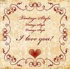 Valentinsgrußkarte | Stock Vektrografik