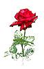 ID 3058619 | Rote Rose | Stock Vektorgrafik | CLIPARTO