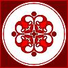 rotes Dingbat für Design