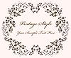 ID 3061994 | Vintage floral frame | Klipart wektorowy | KLIPARTO