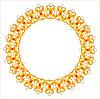 ID 3068162 | Goldene Halskette mit Diamanten | Stock Vektorgrafik | CLIPARTO
