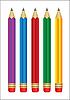 Vektor Cliparts: Satz von Bleistiften