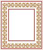 Vektor Cliparts: Rahmen mit Ornament
