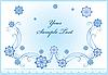 ID 3078671 | Зимняя открытка со снежинками | Векторный клипарт | CLIPARTO
