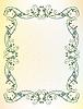 Vektor Cliparts: floral frame