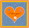 Valentinstags-Design mit Herz