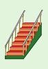 Treppe | Stock Vektrografik