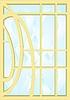 Glasmalerei-Fenster | Stock Vektrografik