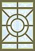 Glasmalerei-Fenster