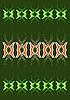 grünes Muster