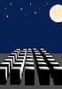 Full Moon | Stock Vector Graphics