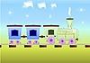 Kinder-Zug | Stock Vektrografik