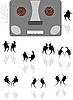 Tänze unter dem alten Kassettenrekorder